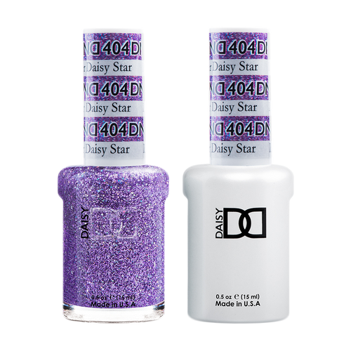 DND Nail Lacquer And Gel Polish, 404, Lavender Daily Star, 0.5oz KK0918