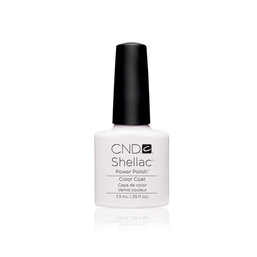 CND Shellac Gel Polish, 40501, Cream Puff, 0.25oz KK1206