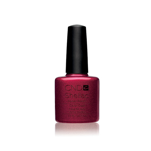 CND Shellac Gel Polish, 40509, Red Baroness, 0.25oz KK0824