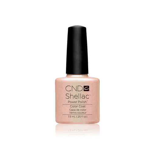 CND Shellac Gel Polish, 40517, Iced Coral, 0.25oz KK0824