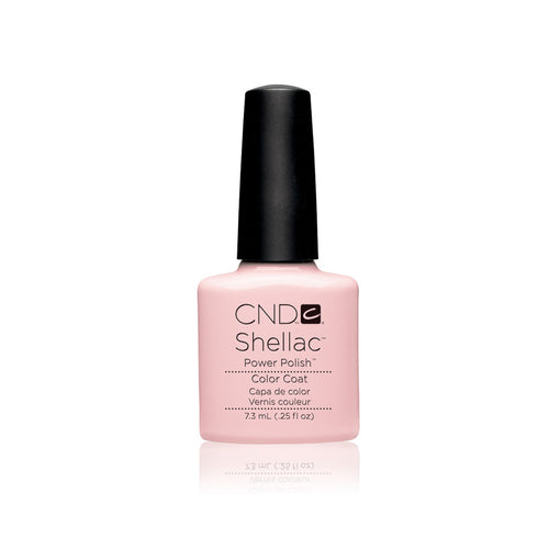 CND Shellac Gel Polish, 40523, Clearly Pink, 0.25oz KK0824