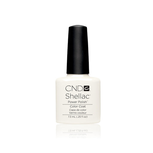 CND Shellac Gel Polish, 40526, Studio White, 0.25oz KK0824
