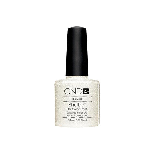 CND Shellac Gel Polish, 40532, Silver Chrome, 0.25oz KK0824