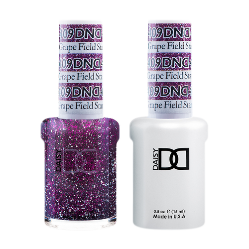 DND Nail Lacquer And Gel Polish, 409, Grape Field Star, 0.5oz KK0918