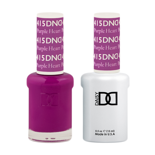 DND Nail Lacquer And Gel Polish, 415, Purple Heart, 0.5oz KK1008