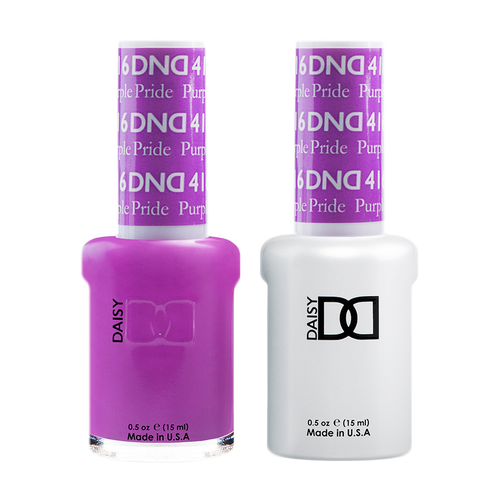 DND Nail Lacquer And Gel Polish, 416, Purple Pride, 0.5oz KK1211