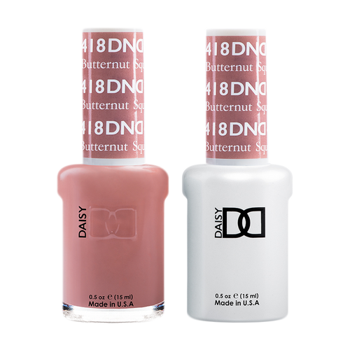 DND Nail Lacquer And Gel Polish, 418, Butternut Squash, 0.5oz KK1008
