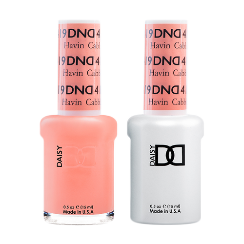 DND Nail Lacquer And Gel Polish, 419, Havin Cabbler, 0.5oz KK1008