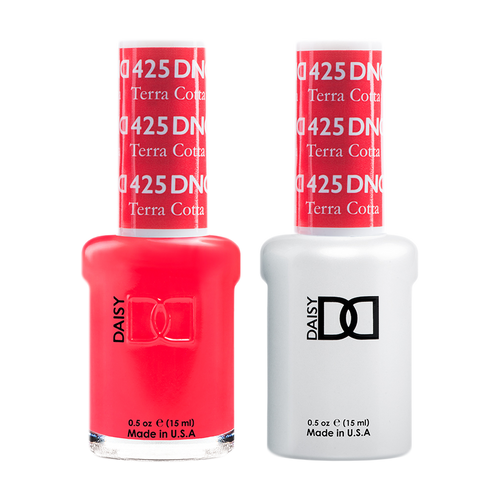 DND Nail Lacquer And Gel Polish, 425, Terra Cotta, 0.5oz KK1008