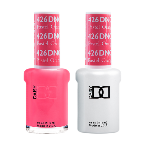 DND Nail Lacquer And Gel Polish, 426, Pastel Orange, 0.5oz KK1008