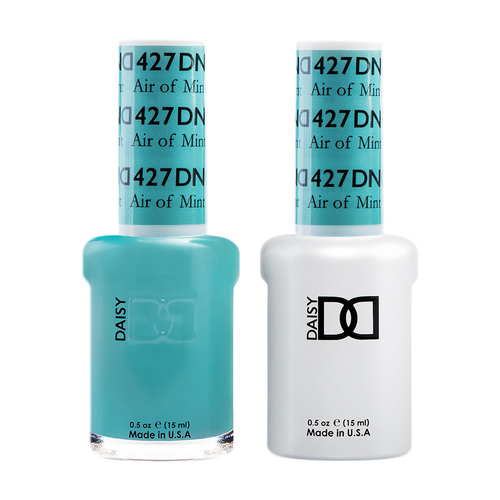 DND Nail Lacquer And Gel Polish, 427, Air Of Mint, 0.5oz KK1008
