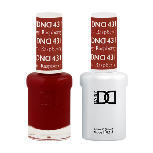 DND Nail Lacquer And Gel Polish, 431, Raspberry, 0.5oz KK1206