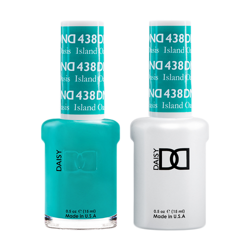 DND Nail Lacquer And Gel Polish, 438, Island Oasis, 0.5oz KK1008