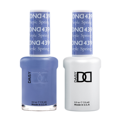 DND Nail Lacquer And Gel Polish, 439, Purple Spring, 0.5oz KK1211