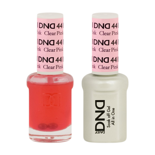DND Nail Lacquer And Gel Polish, 441, Clear Pink, 0.5oz KK1211