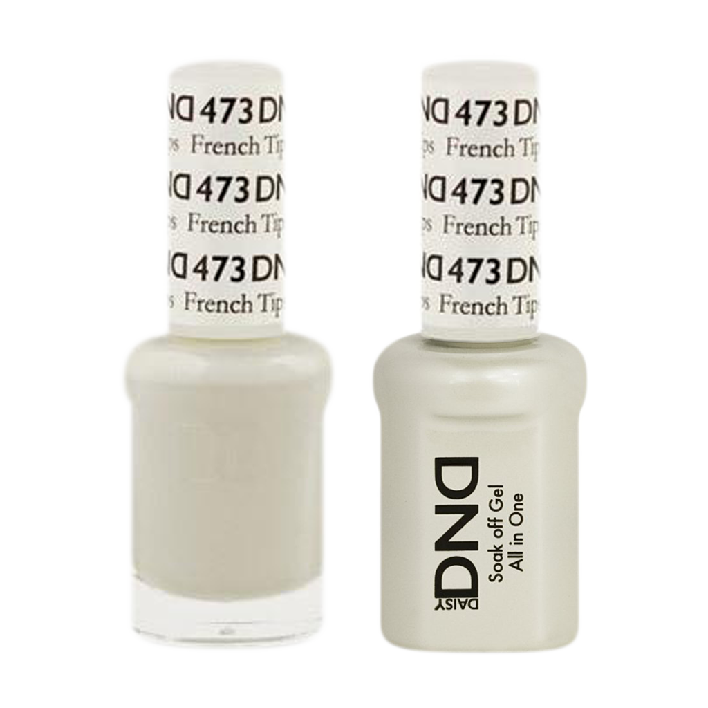 DND Nail Lacquer And Gel Polish, 473, French Tip, 0.5oz KK0618 ...