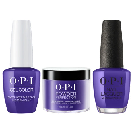OPI 3in1, DGLN47, Do You Have This Color In Stock-Holm, 1.5oz