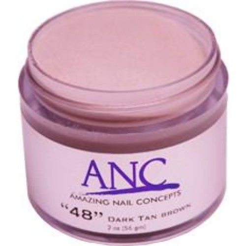 ANC Dipping Powder, 2OP048, Dark Brown Tan, 2oz KK