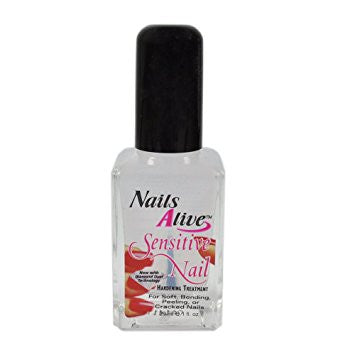 Nails Alive Sensitive Nail Hardening Treatment,1oz