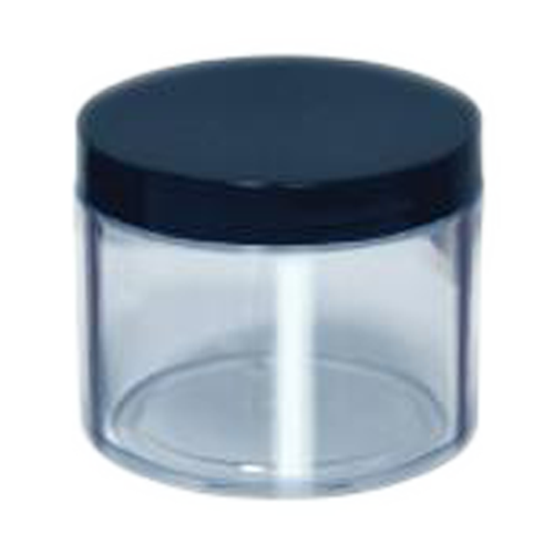 Cre8tion Double Wall Thick Plastic Jar, 4oz, 26071 KK1004