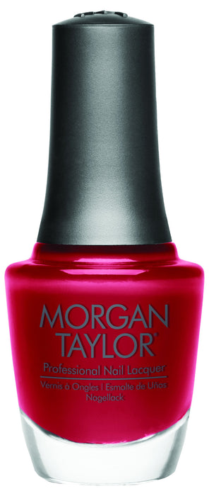 Morgan Taylor, 50189, Gifted With Style Collection, Ruby Two-Shoes- Scarlet Red Crème, 0.5oz KK0910