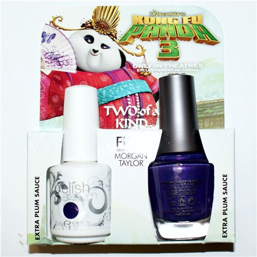 Morgan Taylor, 50204, Kungfu Panda Collection, Candied Violets – Amethyst Pearl, 0.5oz