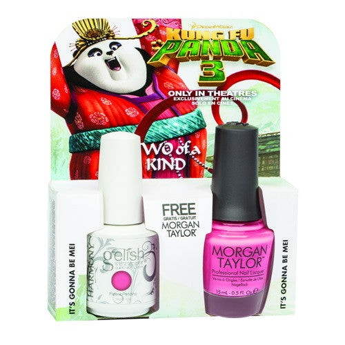 Morgan Taylor, 50197, Kungfu Panda Collection, Sweet Pea-Ce of My Heart – Rose Pearl, 0.5oz