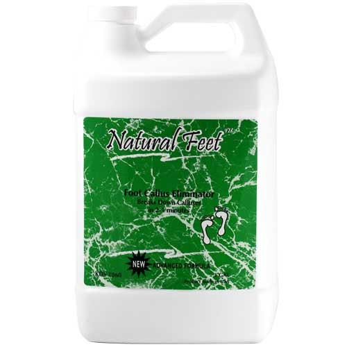 Natural Feet, Foot Callus Eliminator, 1Gal, 28037