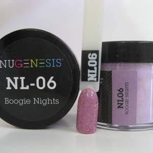 Nugenesis Dipping Powder, NL 006, Boogie Nights, 2oz KK1003