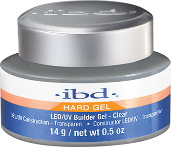 IBD LED/UV, Builder Gels, 61177, Clear, 0.5oz
