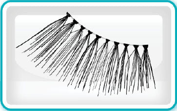 Ardell Eyelashes, Accent Lash, 315, 61315 KK BB