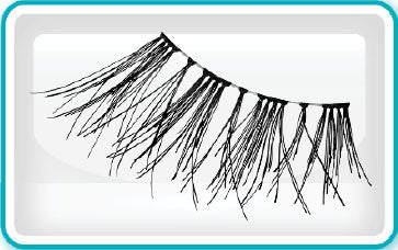 Ardell Eyelashes, Accent Lash, 318, 61318 KK BB