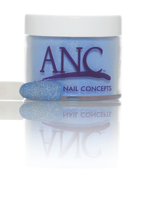 ANC Dipping Powder, 1OP064, Blue Glitter, 1oz, 74507 KK