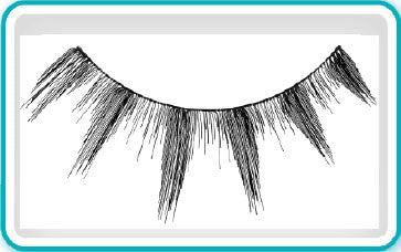 Ardell Eyelashes, Black, 134, 65009 KK BB