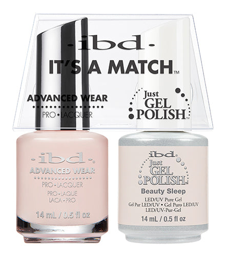 IBD Just Gel Polish, 65475, It's A Match Duo, Beauty Sleep, 0.5oz KK