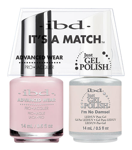 IBD Just Gel Polish, 65476, It's A Match Duo, I'm No Damsel, 0.5oz KK