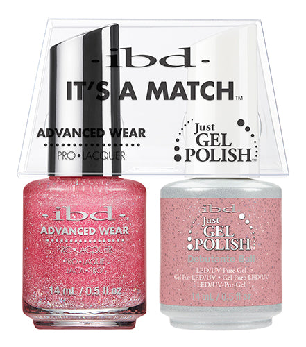 IBD Just Gel Polish, 65480, It's A Match Duo, Debutante Ball, 0.5oz KK