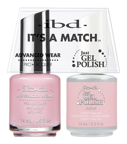 IBD Just Gel Polish, 65483, It's A Match Duo, Juliet, 0.5oz KK