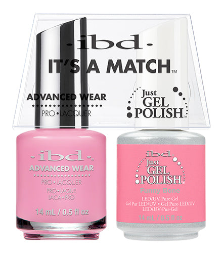 IBD Just Gel Polish, 65487, It's A Match Duo, Funny Bone, 0.5oz KK