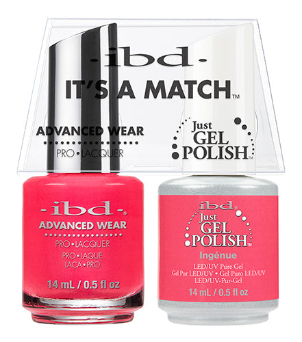 IBD Just Gel Polish, 65491, It's A Match Duo, Ingenue, 0.5oz KK