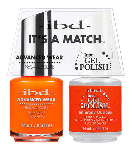 IBD Just Gel Polish, 65505, It's A Match Duo, Infinitely Curious, 0.5oz KK