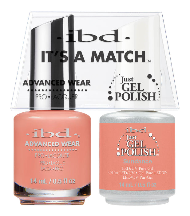 IBD Just Gel Polish, 66664, It's A Match Duo, Sundance, 0.5oz KK