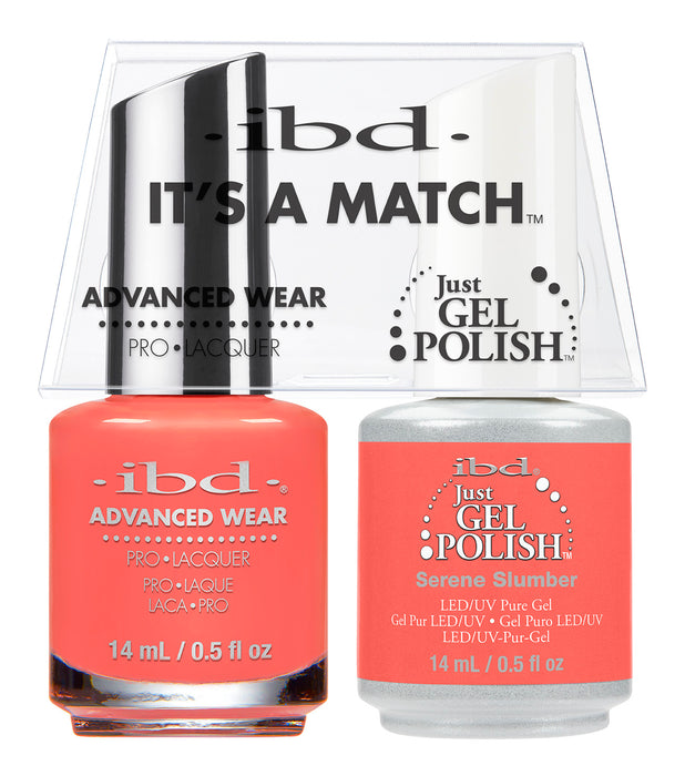 IBD Just Gel Polish, 66665, It's A Match Duo, Serene Slumber, 0.5oz KK