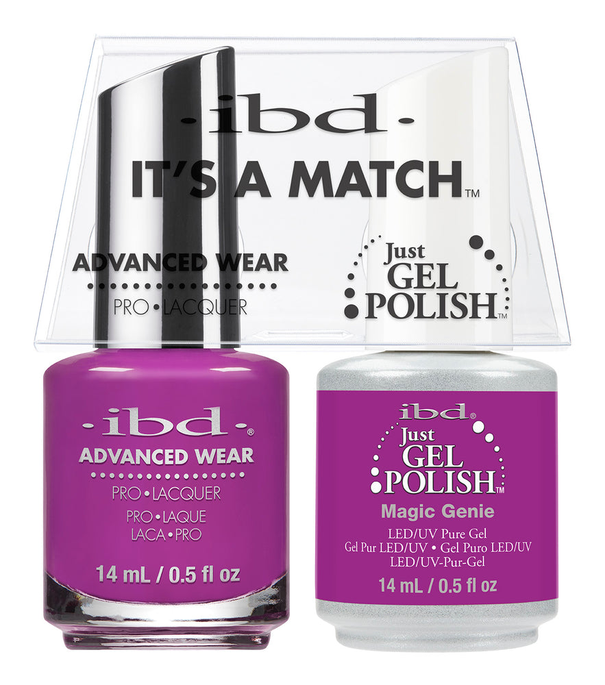 IBD Just Gel Polish, 66672, It's A Match Duo, Magic Genie, 0.5oz KK