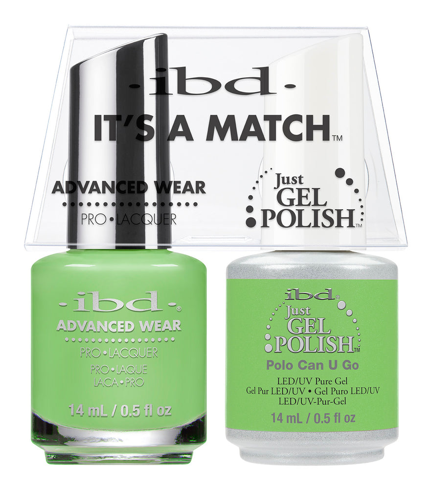 IBD Just Gel Polish, 66686, It's A Match Duo, Polo Can You Go, 0.5oz KK