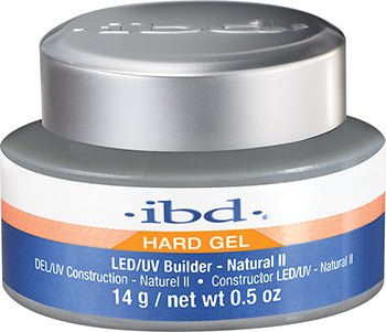 IBD LED/UV, Builder Gels, 72175, Natural II, 0.5oz