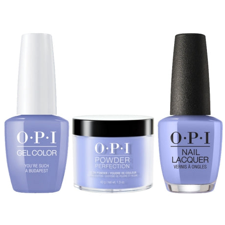 OPI 3in1, DGLE74, You're Such A Budapest, 1.5oz