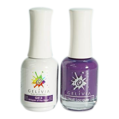 Gelivia Nail Lacquer And Gel Polish, 813, Whisper of the Heart KK0731