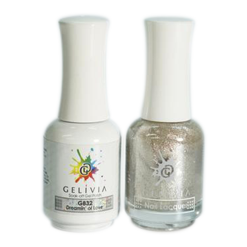 Gelivia Nail Lacquer And Gel Polish, 832, Dreamin' of Love KK0731