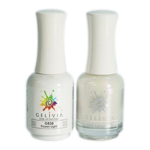 Gelivia Nail Lacquer And Gel Polish, 838, Frozen Light KK0731